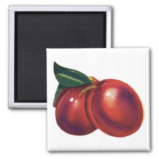 2 Cherries Magnet Customizable