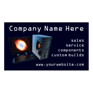 #2 Computer store business cards
