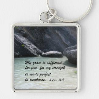 2 Cor. 12:9 Key Ring