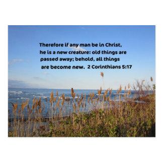 2 Corinthians 5:17 Postcard