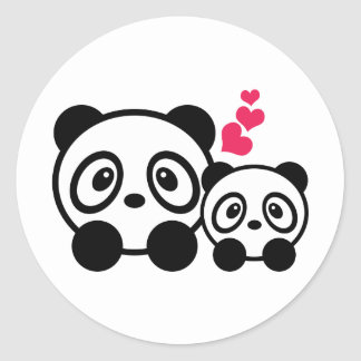 2 Cute Panda Stickers