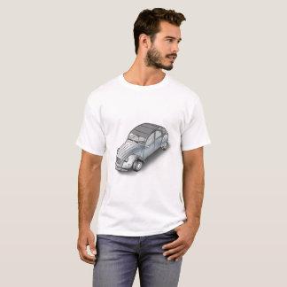 2 CV Citroen  white men t-shirt 3