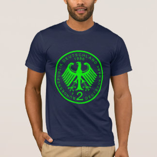 2 Deutsche Marks_Green T-Shirt