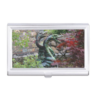 2 Dragons Business Card Holder