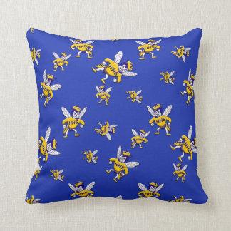 2 Herbie's the Hornet Throw Pillow