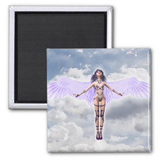 2 Inch Square Magnet; Fairy Collection: Shaylee Magnet