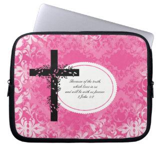 2 John 1:2 Laptop or Netbook Carrier Sleeve