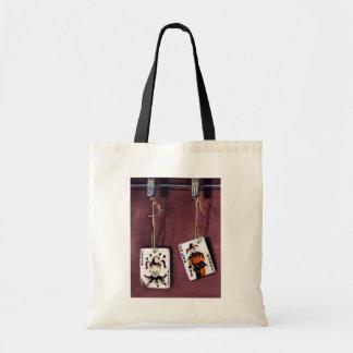 2 Joker's-Lucky Jokers-Wild Cards Budget Tote Bag