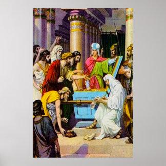 2 Kings 12 Money for God's House poster