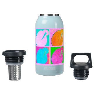 2 Kiwi 4 Insulated Water Bottle
