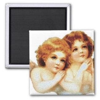 2 Little Angels Praying - Magnet