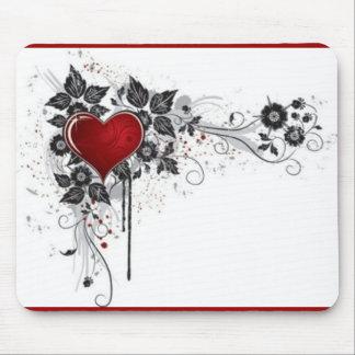 2 love vectors mouse pad