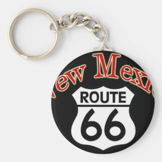 2 New Mexico Route 66 Keychains