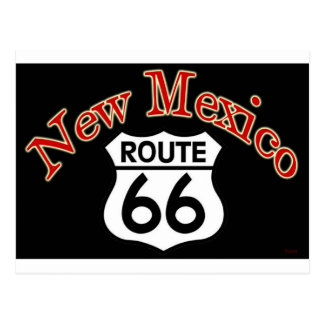 2 New Mexico Route 66 Postcard