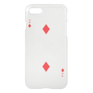 2 of Diamonds iPhone 7 Case