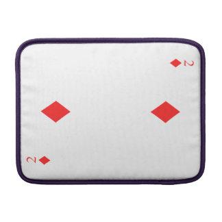2 of Diamonds Sleeve For MacBook Air