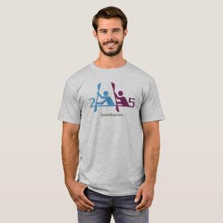 2 Paddling 5 Gray T-Shirt