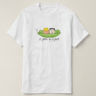 2 Peas in a pod - Add your own text! T-Shirt