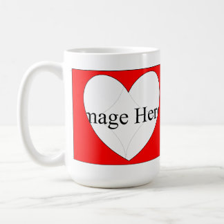 2 Photo Classic Hearts Mug 15oz