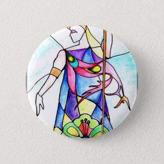 2 - Priestess 6 Cm Round Badge