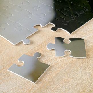 2 Pure White Gardenia Jigsaw Puzzle