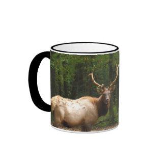 2 Rocky Mountain Elk Ringer Mug