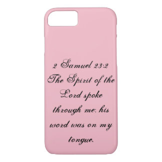 2 Samuel 23:2 Phone Case