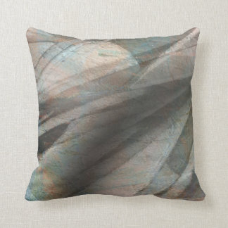 2-Sided Abstract Digital Art Throw Pillow