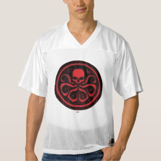 2 Sided Avengers Hydra Logo   Add Your Name Men's Football Jersey
