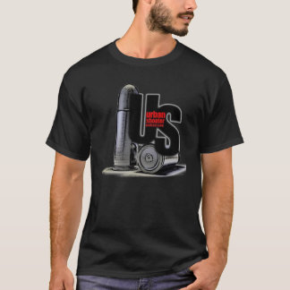 2 Sided Black Urban Shooter Shirt