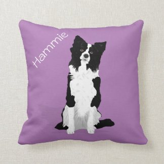 2 Sided Customizable Pet Pillow - Border Collie