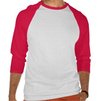 "2 Sided Evil Kanji Men's 3/4"" Raglan Shirt"