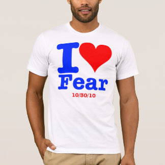 2 Sided Fear - Foreigners T-Shirt