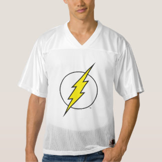 2 Sided Flash Lightning Bolt | Add Your Name Men's Football Jersey