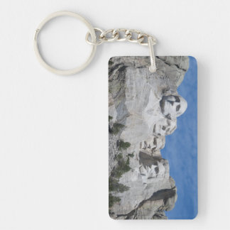 2 Sided Mount Rushmore Keychain