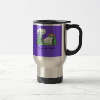 2-sided PURPLE Mt High Logo Mugs