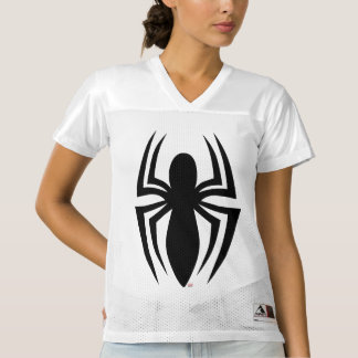 2 Sided Spider-Man Logo | Add Your Name Women's Football Jersey