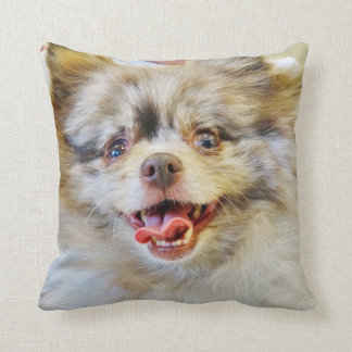 2-sided Throw Pillow - I'm Adopted!