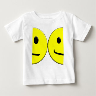 2 Sides of the Same Face Baby T-Shirt