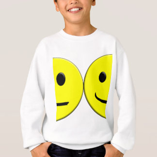 2 Sides of the Same Face Sweatshirt