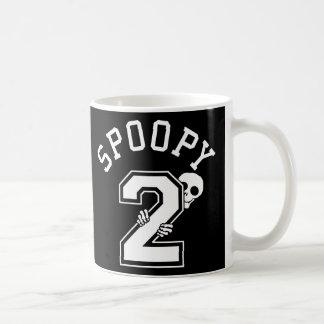 2 Spoopy Athletic Lettering Coffee Mug