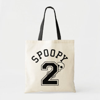 2 Spoopy Athletic Lettering Tote Bag