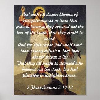 2 Thessalonians 2:10-12 Print