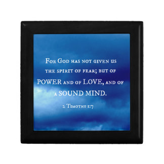 2 Timothy 1:7 For God has not given.... Gift Box
