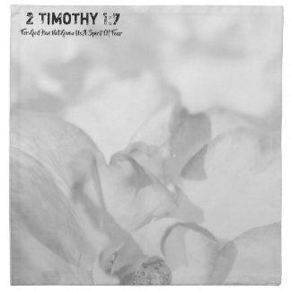 2 Timothy 1-7 For God Napkin