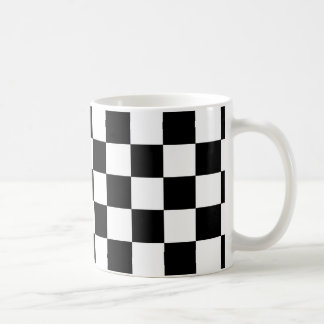 2-Tone Ska Checks Basic White Mug