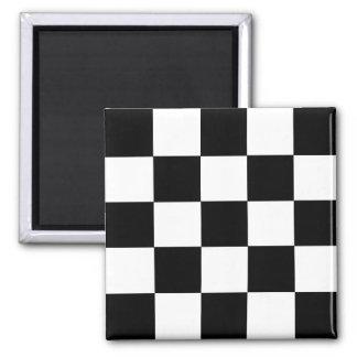 2-Tone Ska Checks Square Magnet