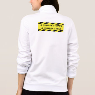 """""""2 wheels good"""" cycling jackets for women"""