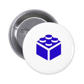 2 x 2 Brick by Customise My Minifig Pinback Buttons