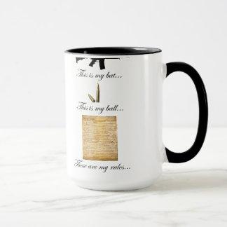 2A Bat, Ball and Rules Mug